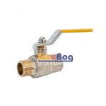 Кран шаровый для газа Santan 605, 1/2'' НВ ЖР, Premium