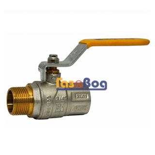 Кран шаровый для газа Santan 605, 3/4'' НВ ЖР, Premium