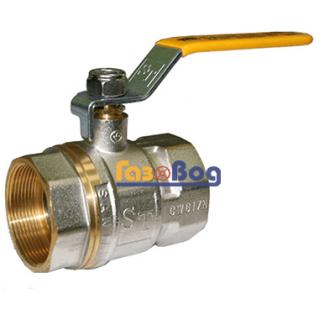 Кран шаровый для газа Santan 600, 1 1/2'' ВВ ЖР, Professional