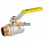 Кран шаровый для газа Santan 605, 1/2'' НВ ЖР, Professional