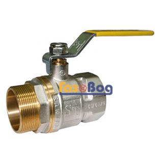 Кран шаровый для газа Santan 605, 2'' НВ ЖР, Professional