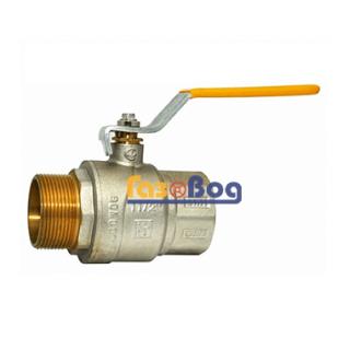Кран шаровый для газа Santan 605, 1 1/2'' НВ ЖР, Premium