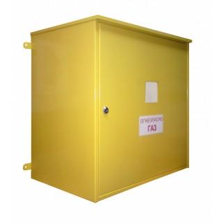 Шкаф монтажный под узел учета газа Горизонтальный 570х240х430