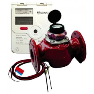 Счетчик тепла Sensus PolluTherm / WPD 200-250 тахометрического типа