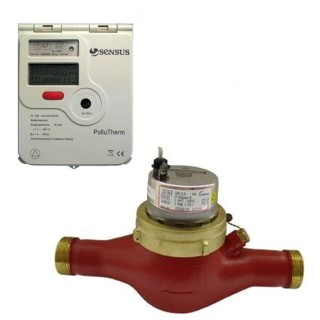 Счетчик тепла Sensus PolluTherm / 2 x WPD 40-10  тахометрического тип