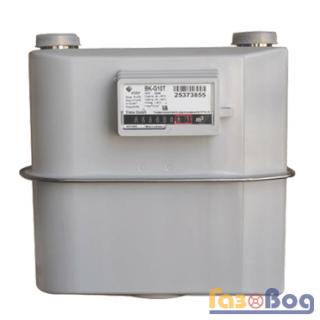 Бытовой газовый счетчик Elster BK G10T
